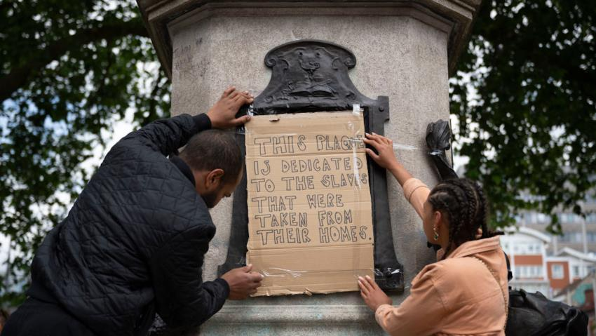 London's Muslim Mayor Seeks Removal of Slavery-Linked Statues Amid BLM Protests