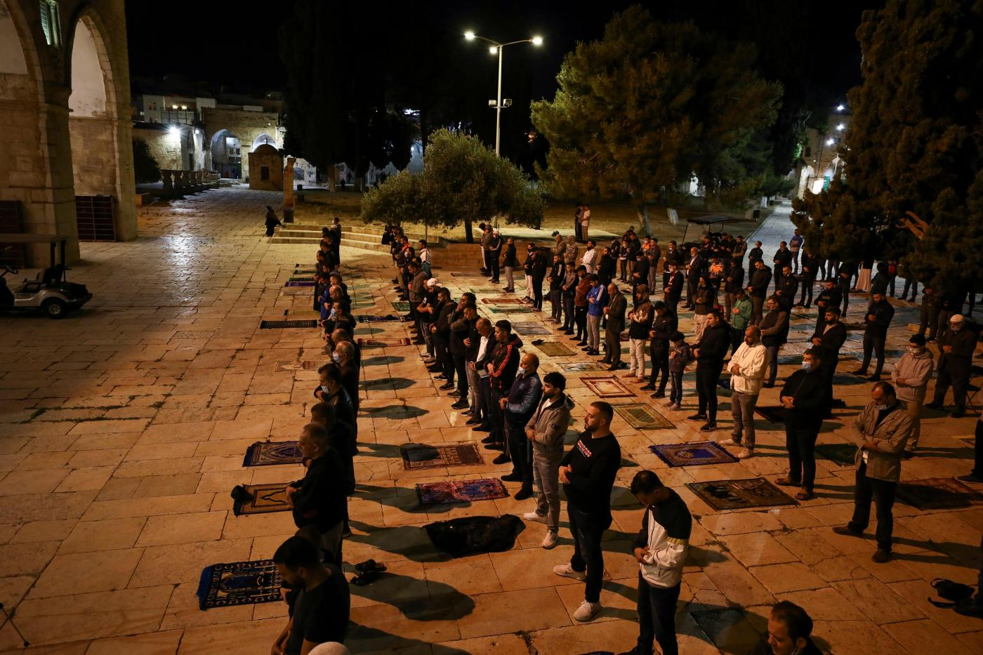 Coronavirus: Thousands Pray at Al-Aqsa After More Than Two Months