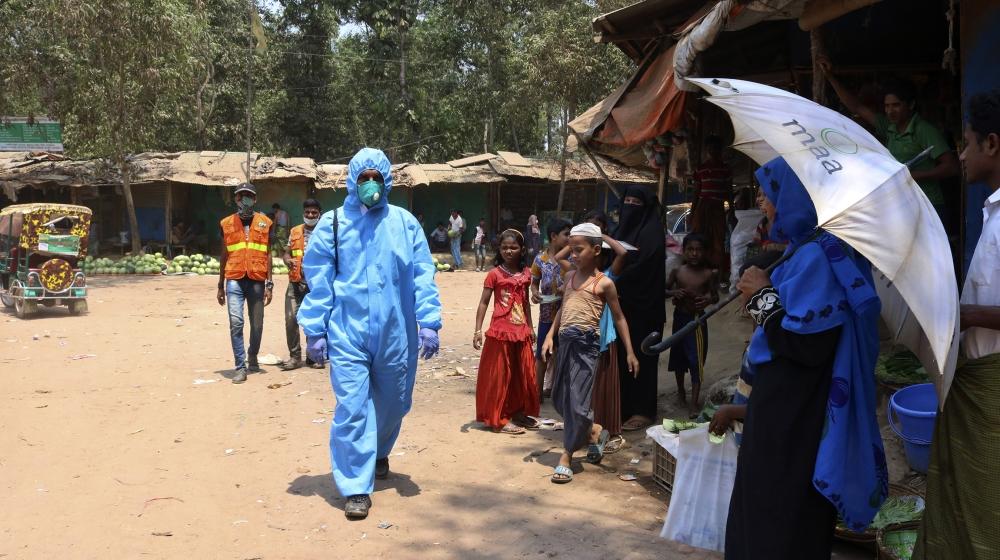 15,000 Rohingya Under Quarantine as Coronavirus Cases Rise