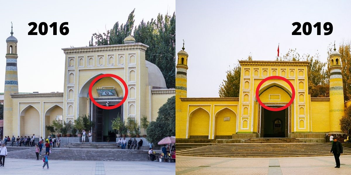 Cultural Genocide: China Continues to Destroy Uyghur Mosques and Islamic Symbols