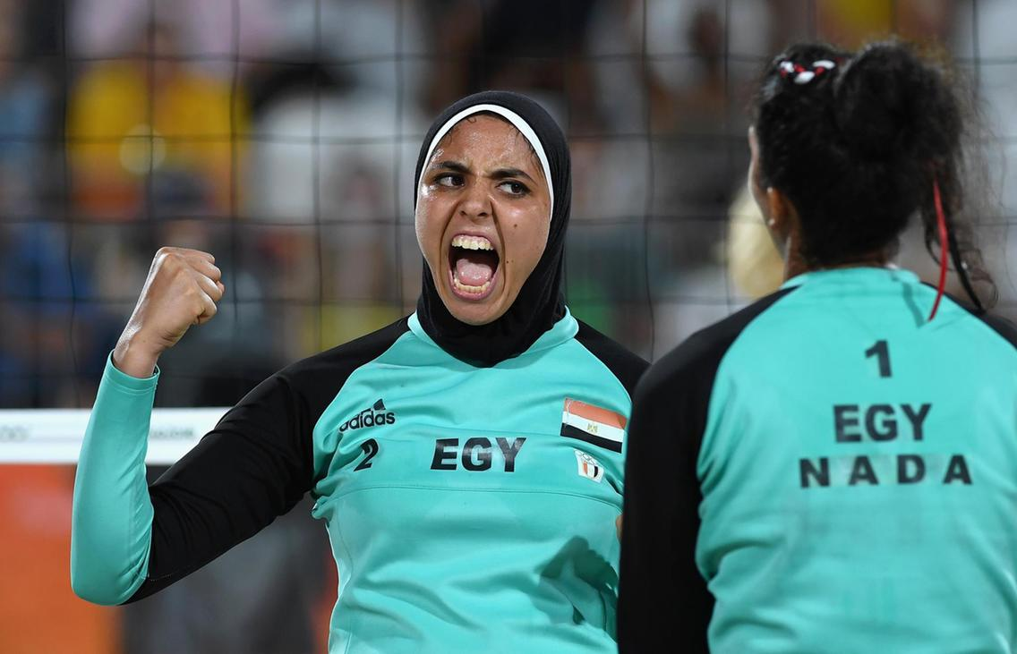 Sport and Hijab: How Athletes Like Egypt's Doaa Elghobashy and UAE's Zahra Lari Are Breaking Down Barriers