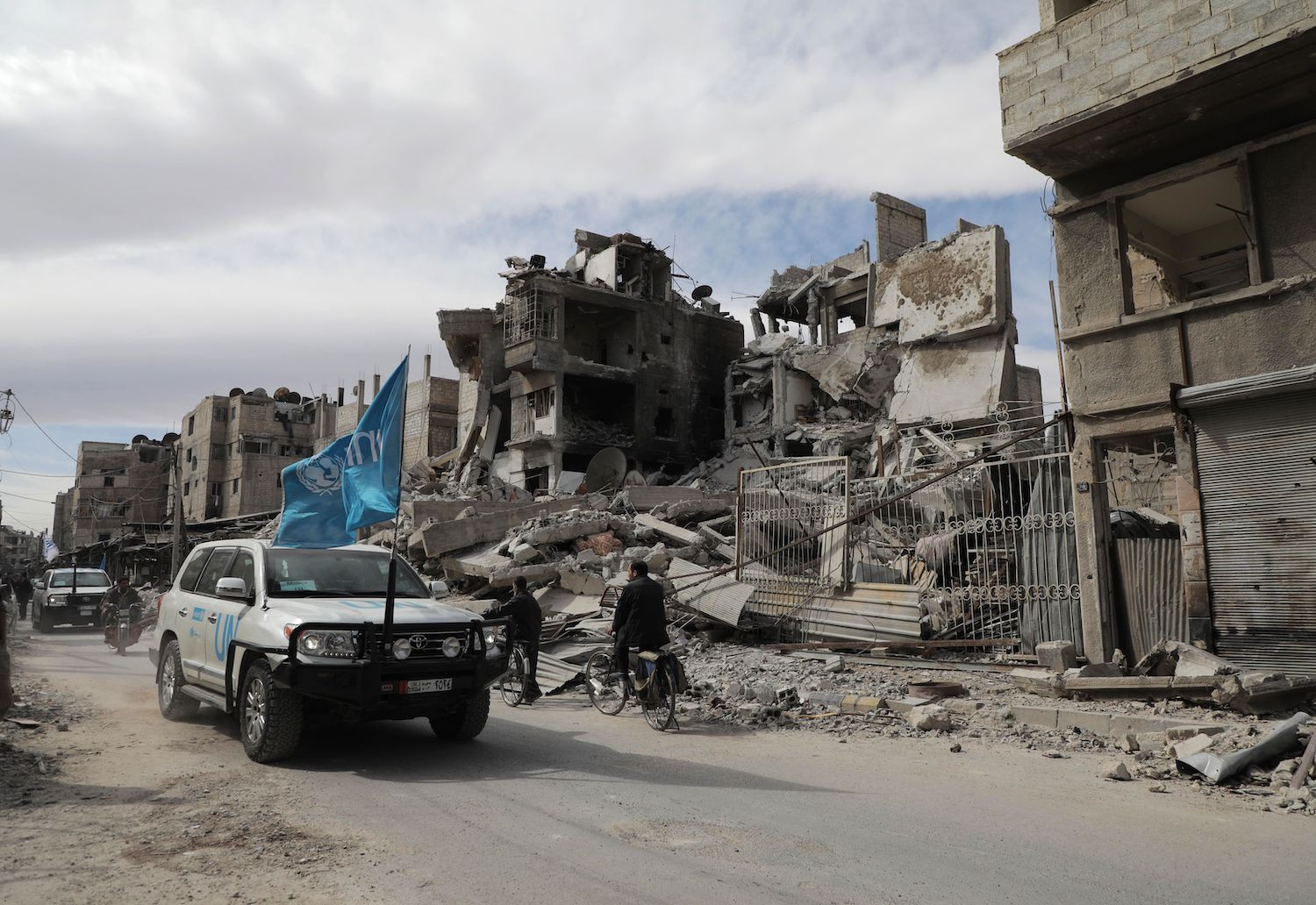 Russia, With An Eye On The Syrian Prize, Blocks Humanitarian Aid