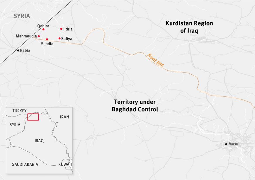 Kurdistan Region Of Iraq: Arabs Blocked From Returning