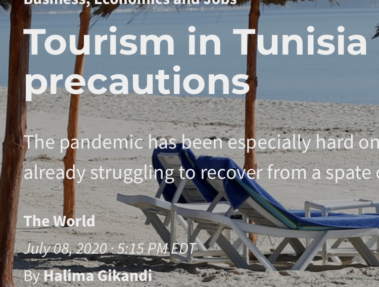 Tourism In Tunisia Reopens — With Precautions
