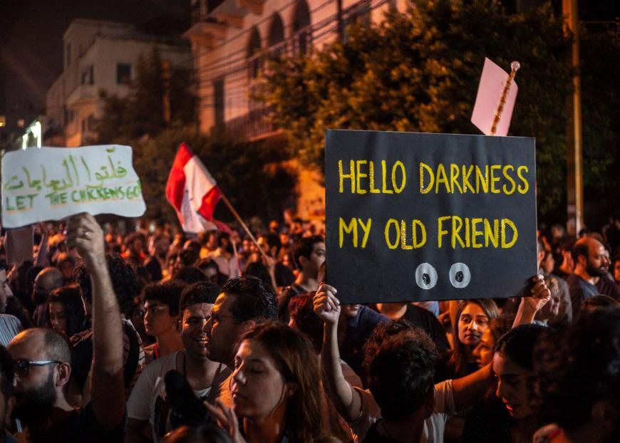 Lebanon In The Dark