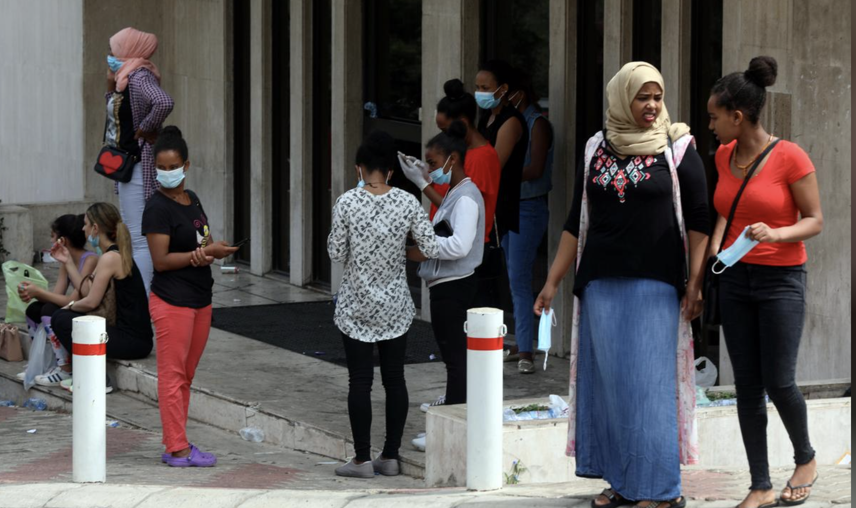 Ethiopian Maids 'Dumped' In The Streets In Lebanon As Covid Hits