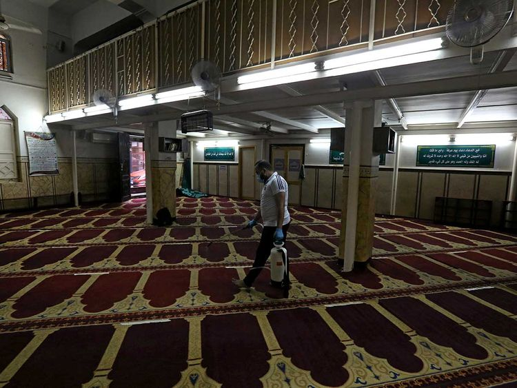 COVID-19: Egypt Closes Key Mosque Over Worshippers' Non-Compliance