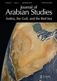 Journal of Arabian Studies: Arabia, the Gulf, and the Red Sea
