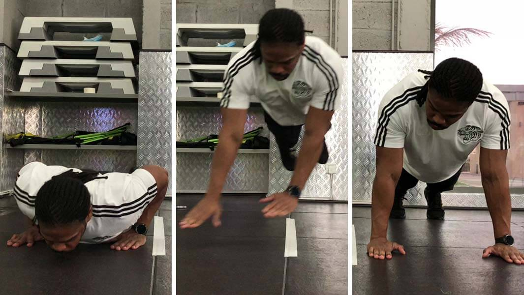 Video: Watch 'The Beast Of The Middle East' Break New Push Ups Record