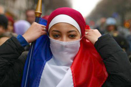 French Ban on Headscarves in Public Schools Hindered Muslim Girls' Ability To Finish School