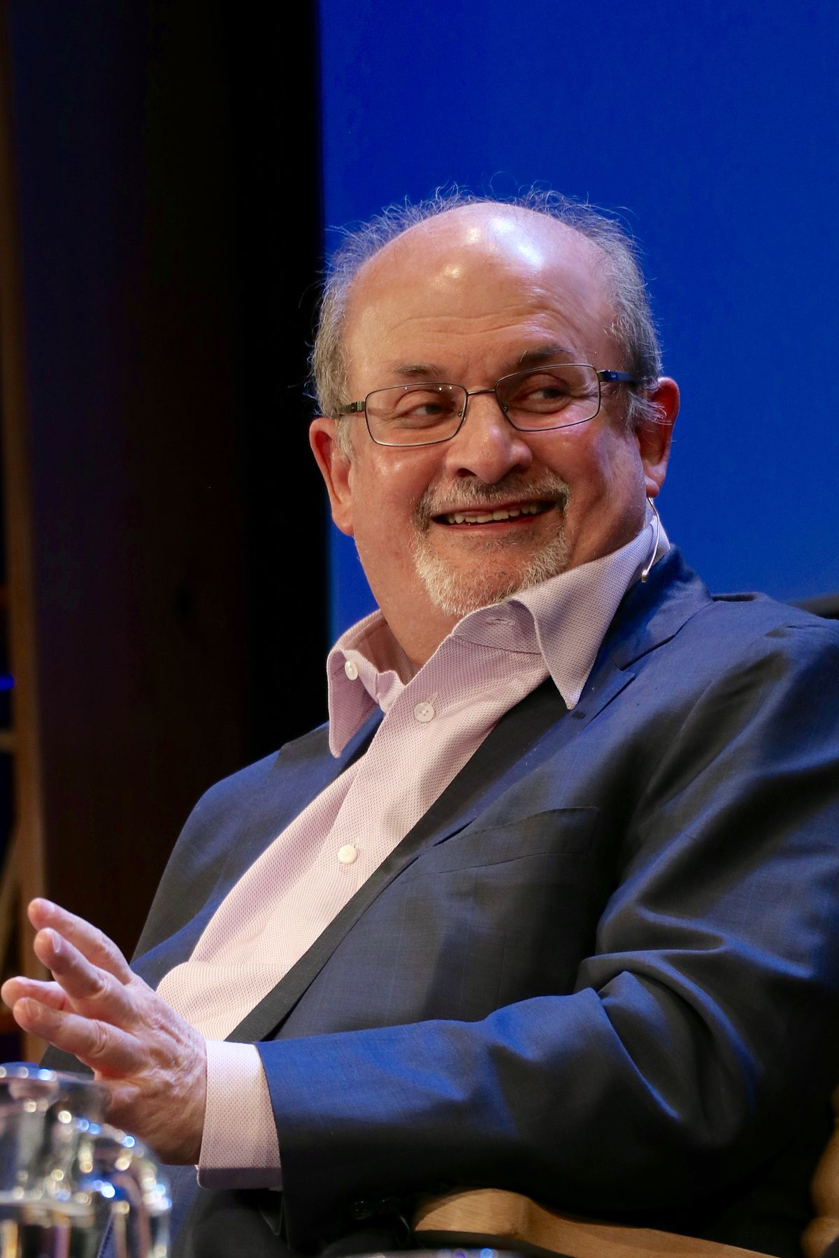 Fact Check: No, Salman Rushdie Never Said Muslims Destroy A Nation In The Name Of Islam