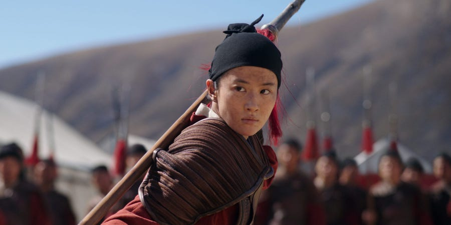 Disney Filmed Parts of 'Mulan' in China's Xinjiang, Where Millions of Muslims are Being Spied on and Locked Up