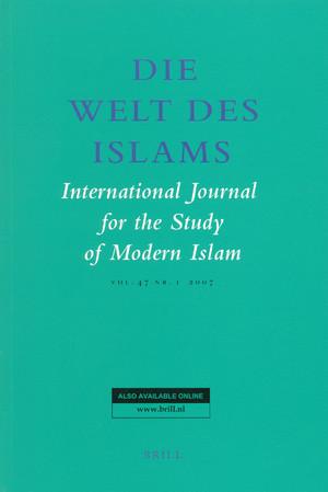 Die Welt des Islams: International Journal for the Study of Modern Islam